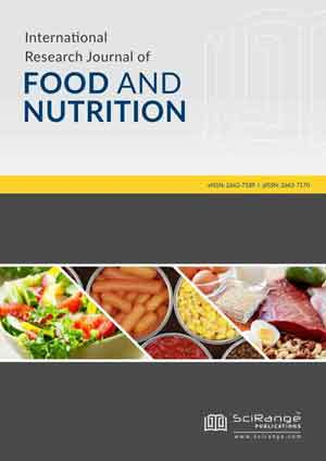 International Research Journal of Food and Nutrition