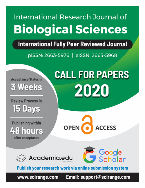 International Research Journal of Biological Sciences