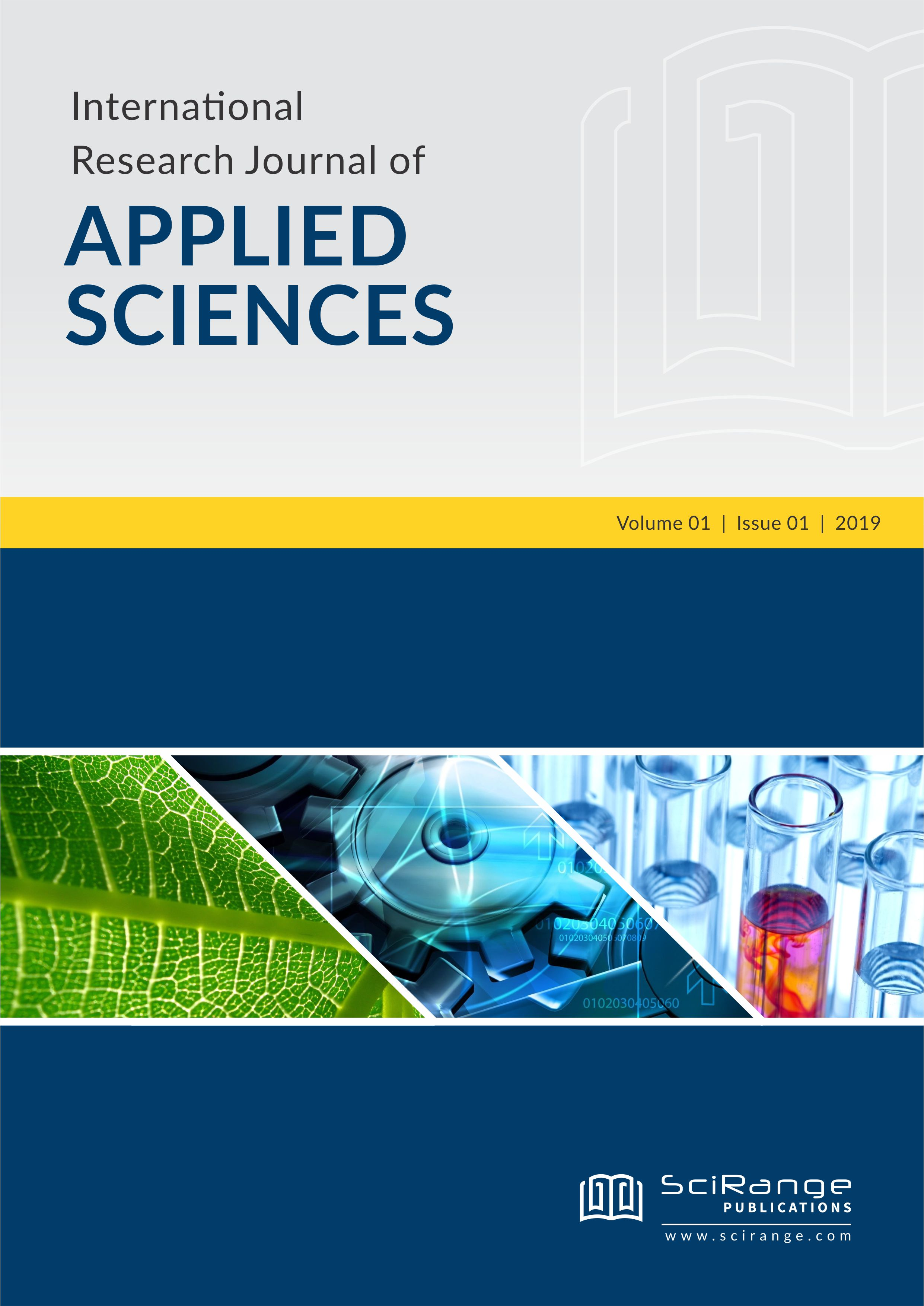 International Research Journal of Applied Sciences